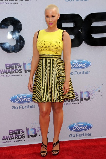 Amber Rose lors des BET Awards 2013 à Los Angeles, le 30 juin 2013.