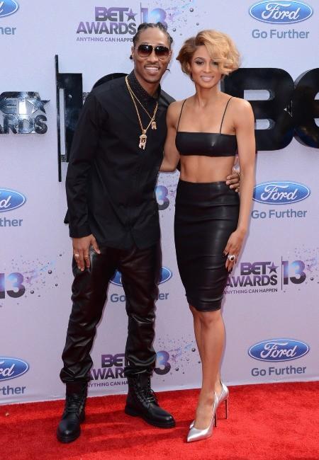 Ciara et Future lors des BET Awards 2013 à Los Angeles, le 30 juin 2013.