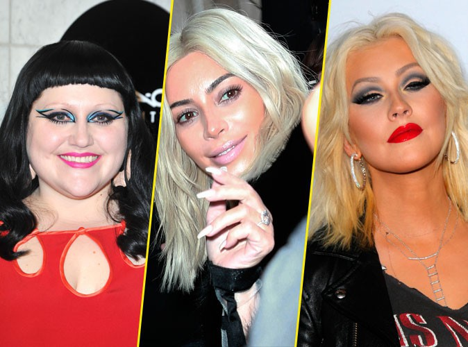 Photos : Beth Ditto, Kim K, Christina Aguilera... Quand les stars mettent le paquet !