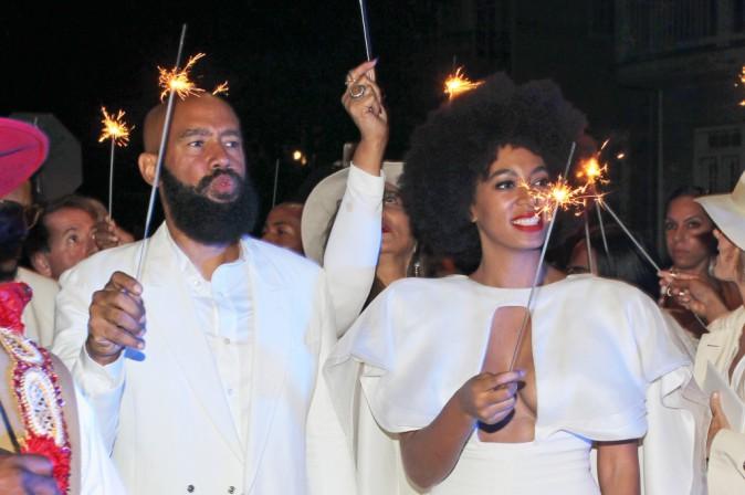 Alan Ferguson et Solange Knowles
