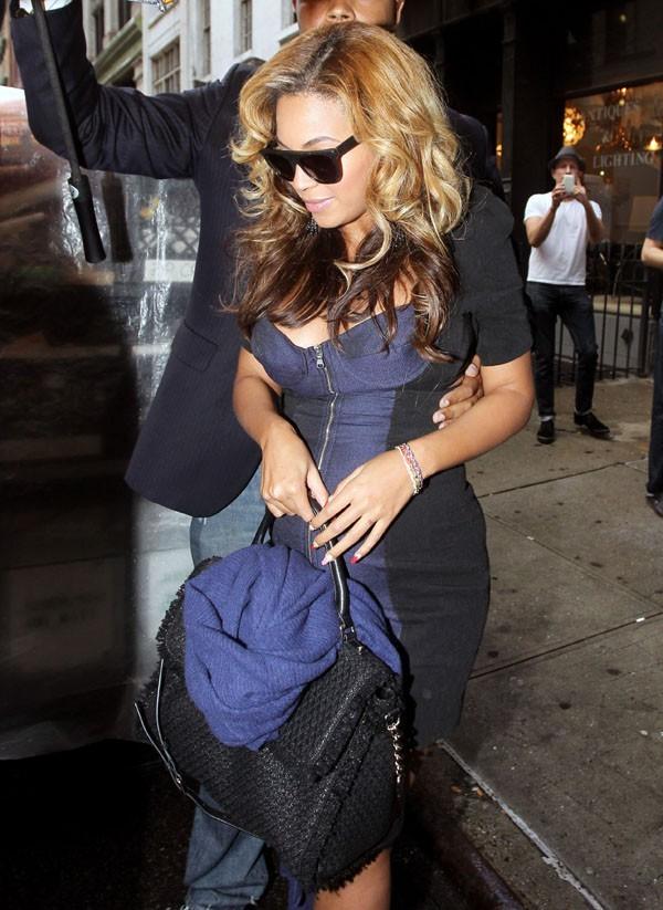 Beyoncé photographiée hier à New-York !