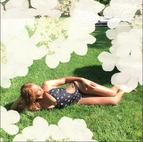 Beyoncé le 8 juin 2015