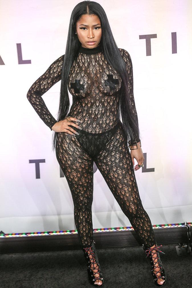 Nicki Minaj lors de la soirée Tidal x 10/15