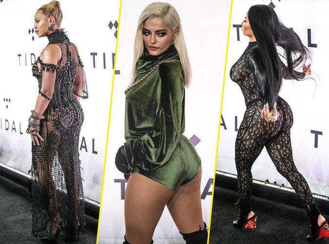 Photos : Beyoncé, Bebe Rexha, Nicki Minaj... Battle de fessiers à la soirée Tidal !