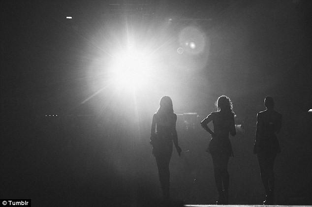 Les Destiny's Child lors du Super Bowl, le 3 février 2013.