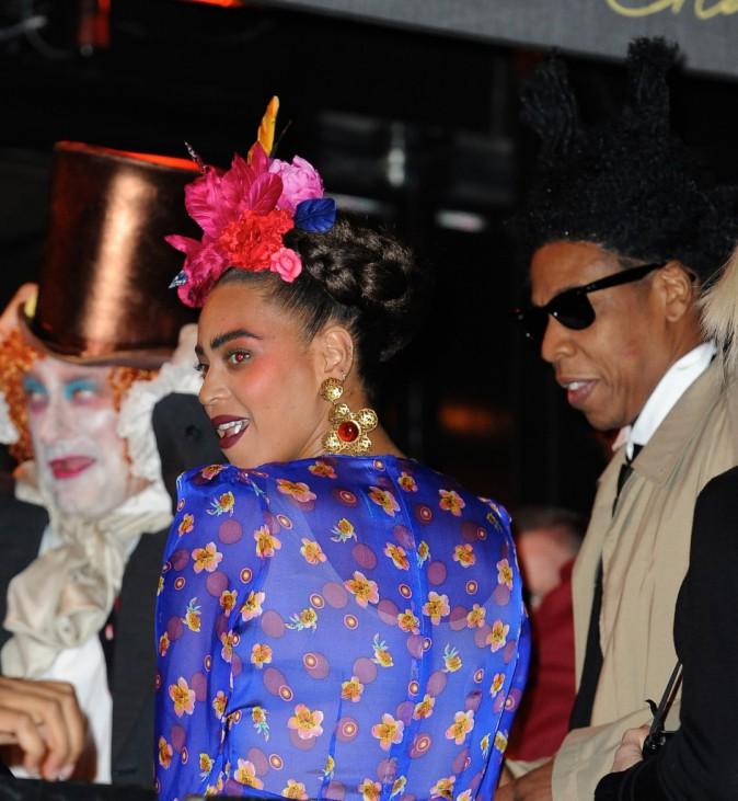 Photos : Beyoncé : déguisée en Frida Kahlo, elle s'éclate avec Blue Ivy et Jay-Z !
