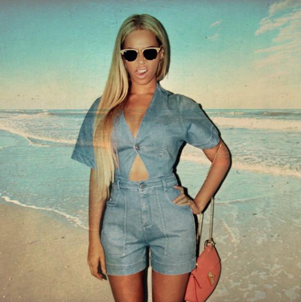 Beyoncé le 7 mai 2015