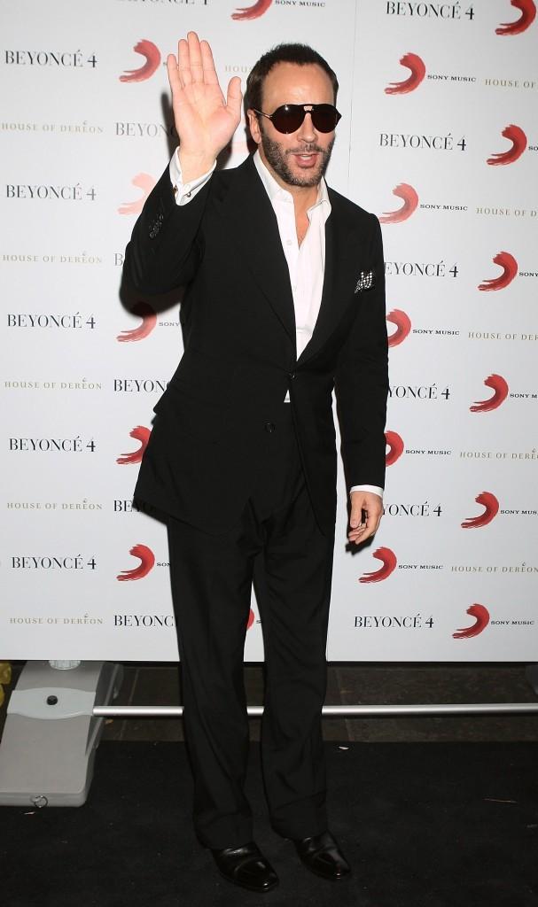 Tom Ford lors de la soirée de lancement du nouvel album de Beyoncé à Londres, le 27 juin 2011.