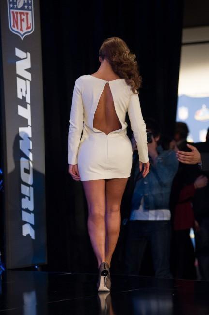 Beyonce donne une conférence de presse le 31 janvier 2013 à La Nouvelle-Orléans