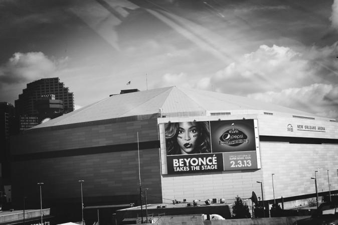 Beyoncé en pleines répétitions de son show pour le Super Bowl