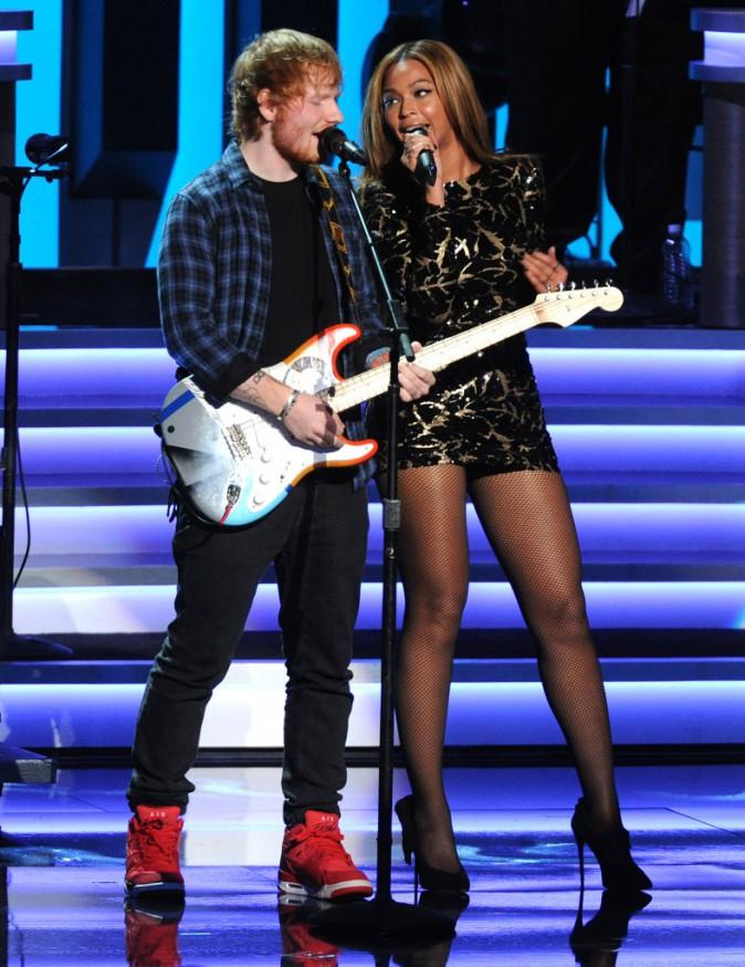 Beyonc� et Ed Sheeran : un duo de choc en hommage � Stevie Wonder !