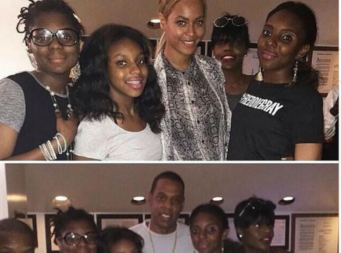 Beyonc� et Jay-Z � la rencontre de la famille de Freddie Gray, le jeune afro-am�ricain tu� � Baltimore...