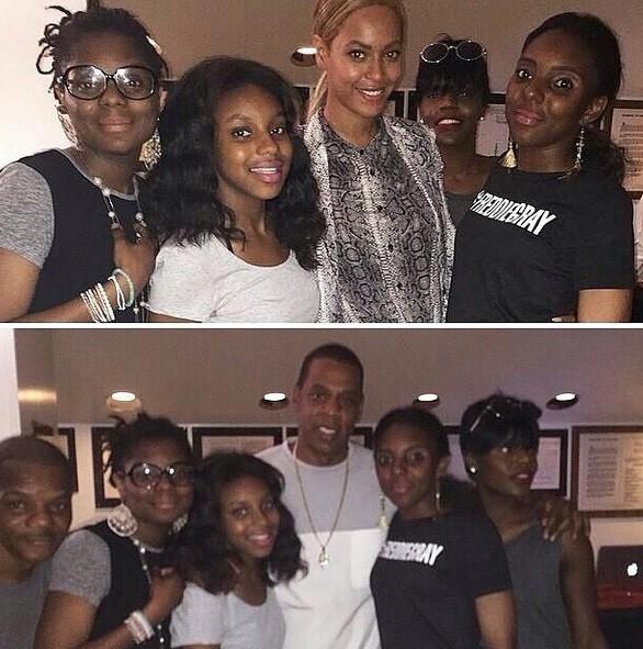 Beyoncé et Jay-Z à la rencontre de la famille de Freddie Gray, le jeune afro-américain tué à Baltimore...