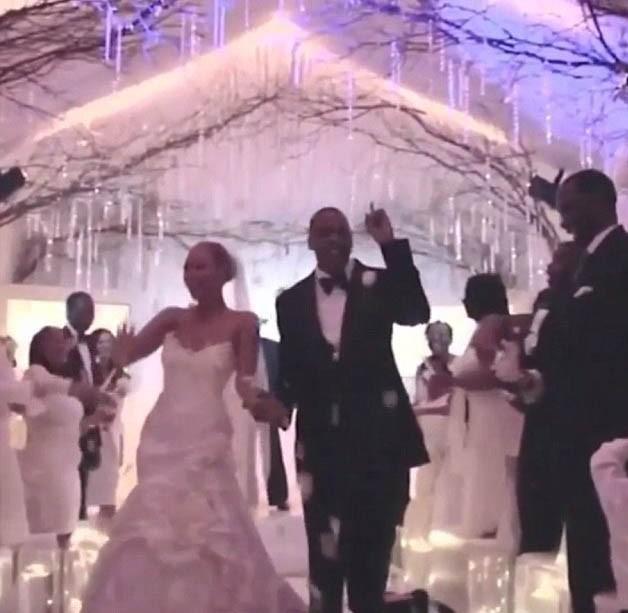 Photos : Beyoncé et Jay-Z dévoilent leur cérémonie mariage !