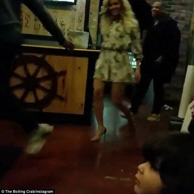 Beyoncé et Jay-Z le 8 novembre 2015
