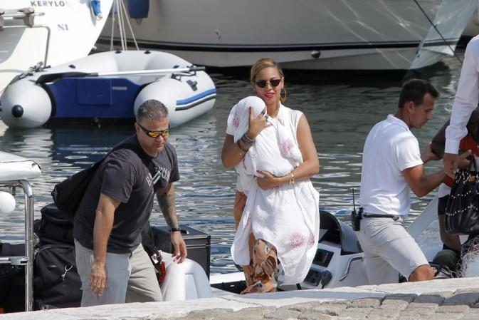 Beyoncé et Jay Z dans le Sud de la France le 8 septembre 2012