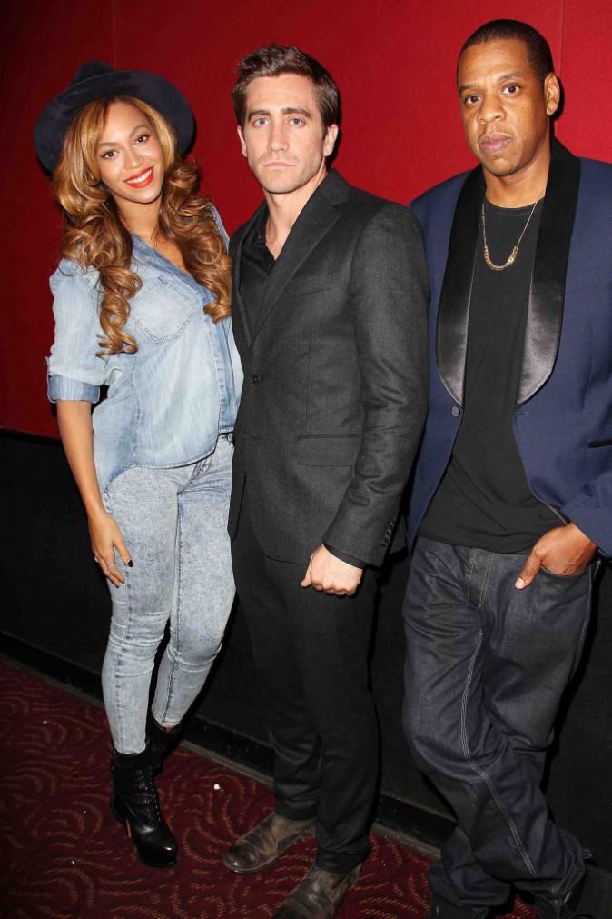 """Beyoncé et Jay Z : ils soutiennent Jake Gyllenhaal à la première de """"Night Call"""" !"""