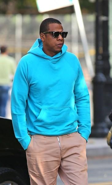 Jay-Z le 20 octobre 2012 à New York