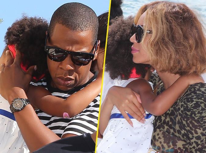 Beyoncé et Jay-Z : nouvelle sortie sous haute sécurité avec Blue Ivy sur la French Riviera !