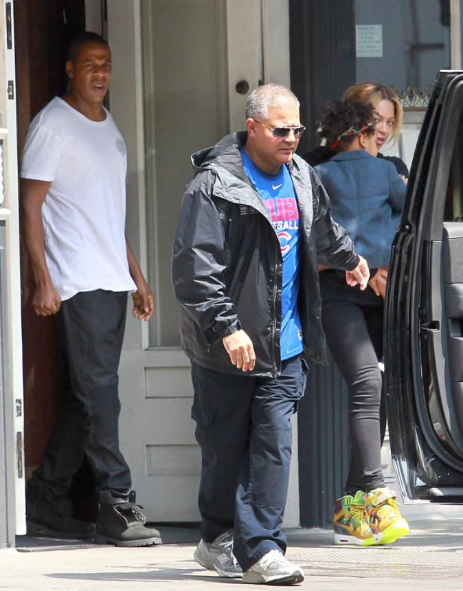 Beyonc� et Jay-Z : pas vraiment d�tendus apr�s leur fameuse nuit � 22 000 euros !