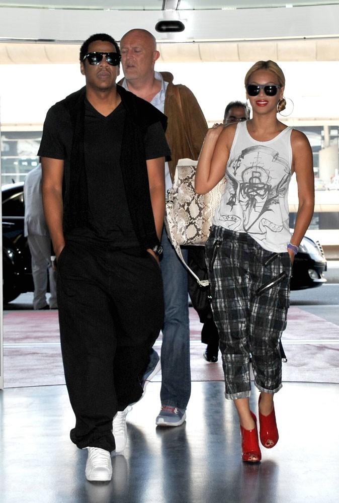 Photos : Beyoncé et Jay-Z à Paris en 2011