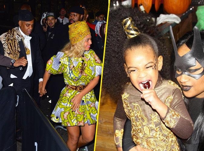 Beyonc� et Jay-Z : un Halloween bling-bling avec Blue Ivy !