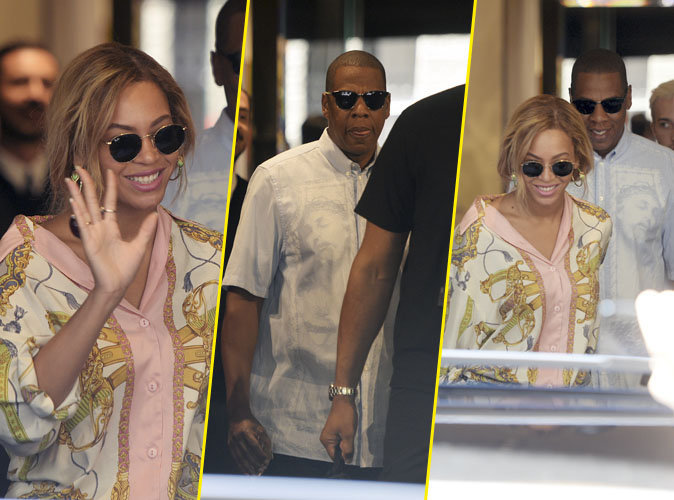 Beyonc� et Jay-Z : Vir�e shopping de luxe en Italie