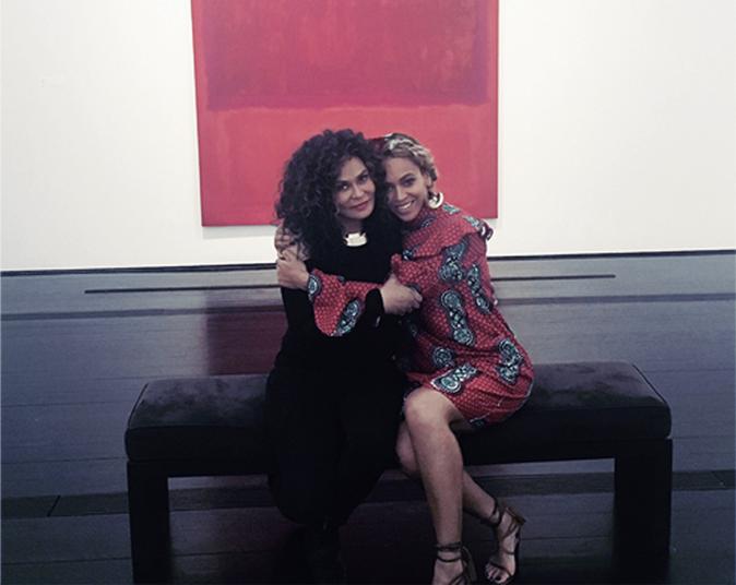 Tina Knowles et Beyoncé