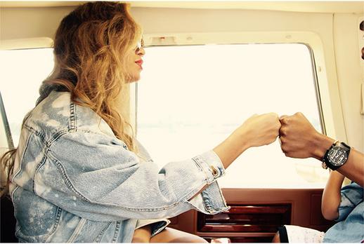 Beyoncé le 23 juillet 2015