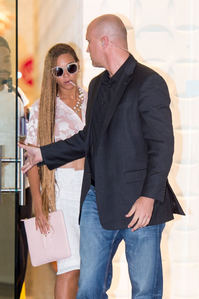 Beyoncé à New-York le 27 mai 2014