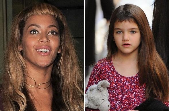 Beyoncé et Suri Cruise