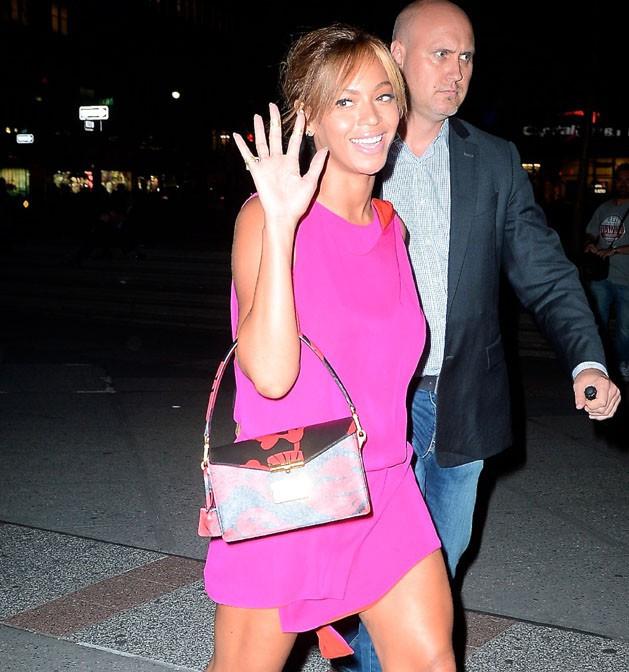 Beyoncé à New-York le 4 juin 2014