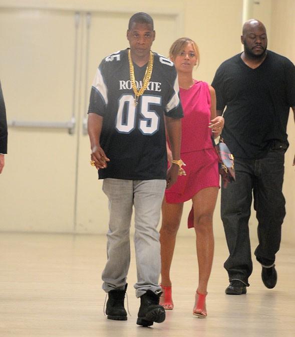 Beyoncé et Jay-Z à New-York le 4 juin 2014