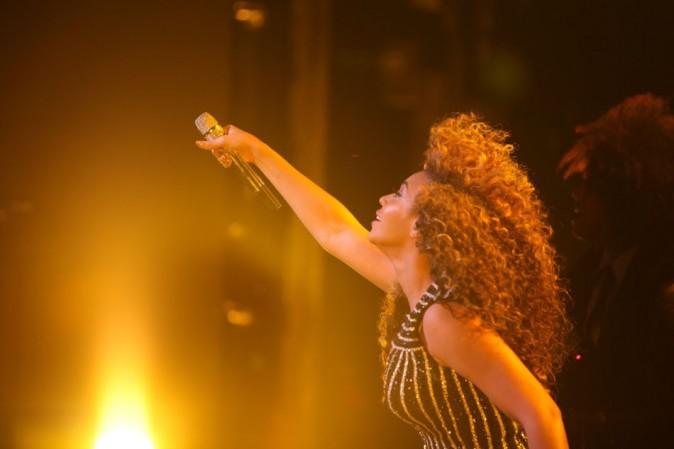 Beyoncé, sexy sur scène à Las Vegas le 31 décembre 2012