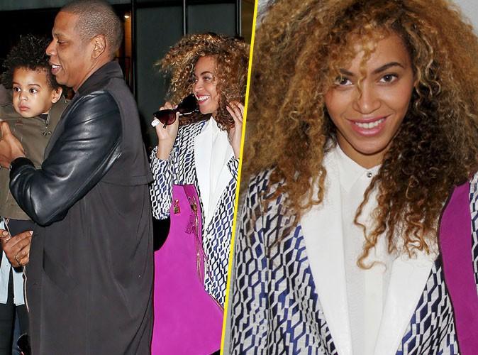 Beyoncé : inséparable de Jay-Z et de Blue Ivy, elle affiche une nouvelle coupe haute en volume à New-York !