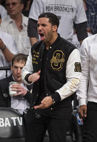 Drake à New York le 2 mai 2014