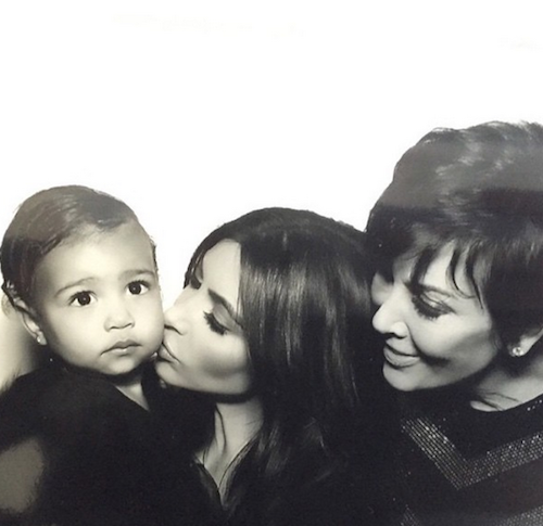 Trois générations de Kardashian