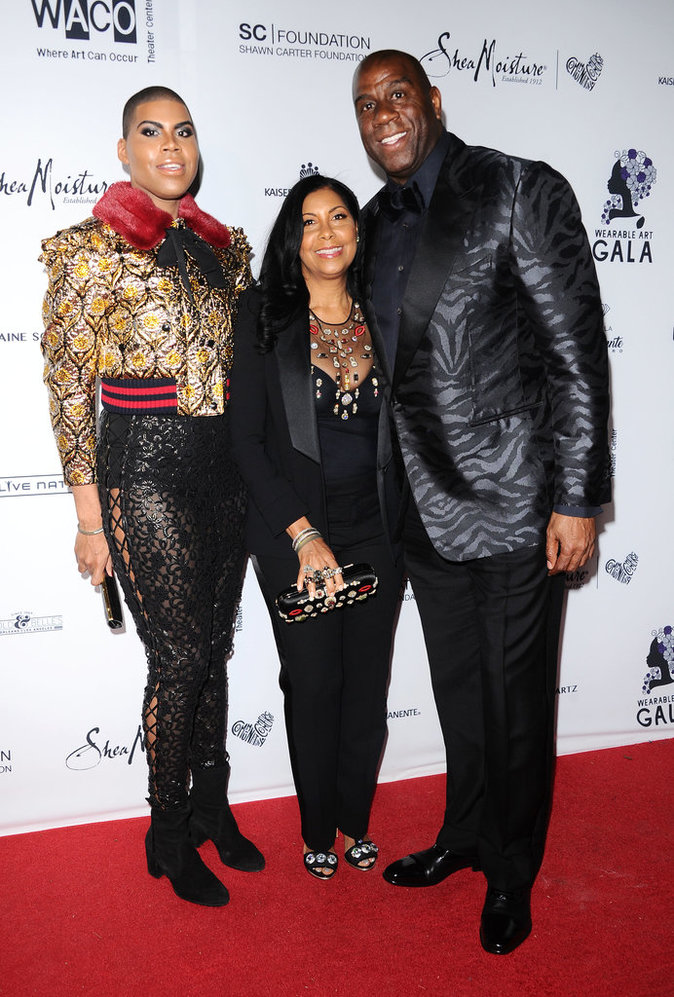 EJ Johnson et ses parents
