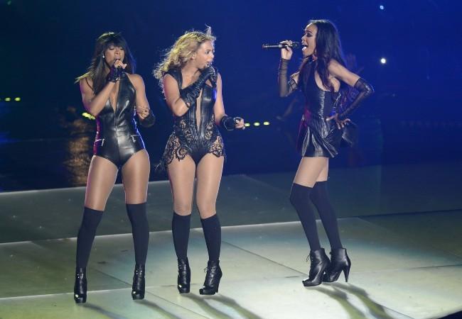 Les Destiny's Child lors de la mi-temps du Super Bowl à la Nouvelle-Orléans, le 3 février 2013.