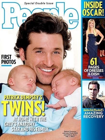 Les jumeaux de Patrick Dempsey