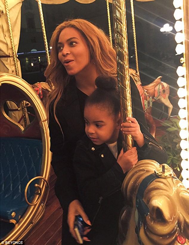 Beyoncé et Blue Ivy en Italie