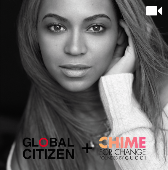 Beyoncé pour Global Citizen