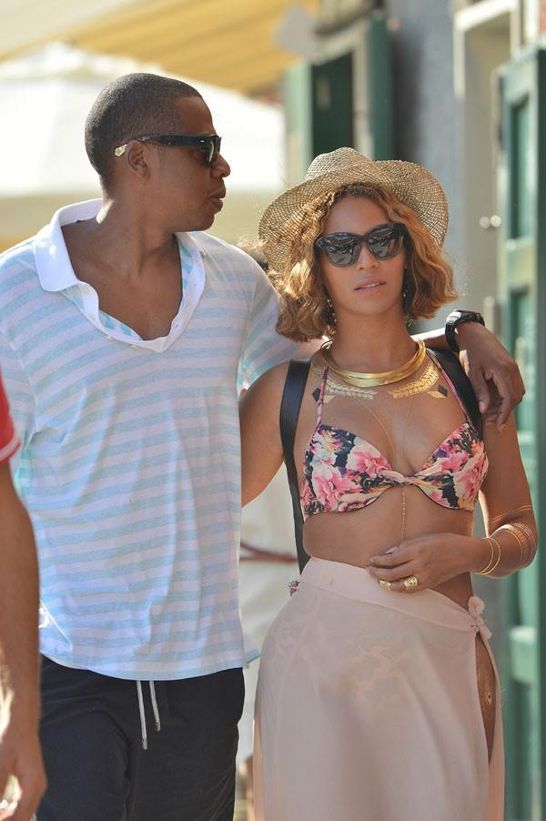 Beyoncé et Jay-Z à Portofino le 6 septembre 2014