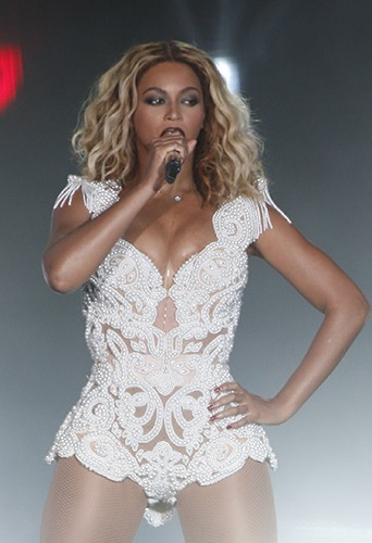 Beyoncé à Rio de Janeiro le 13 septembre 2013