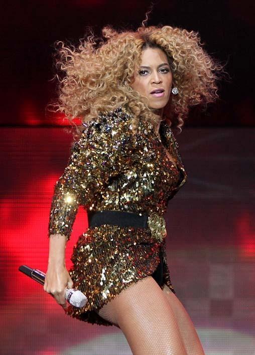 Beyoncé se donne toujours à fond...