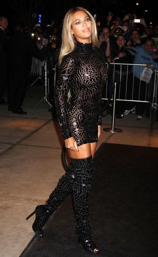 Beyoncé à New-York le 21 décembre 2013