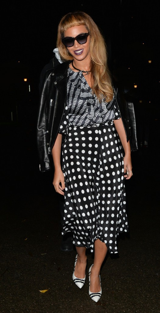 Photos : Beyoncé : super stylée pour un nouvelle balade nocturne avec Jay-Z !