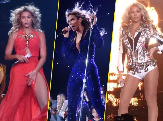 Beyoncé sur la scène du Barclays Center de New-York le 22 décembre 2013