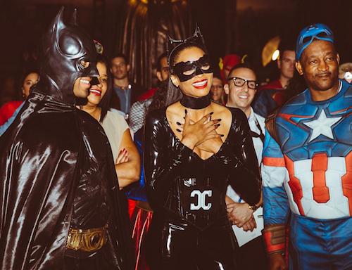Photos : Beyoncé transformée, Ciara ultra sexy pour un anniversaire 100% super héros !