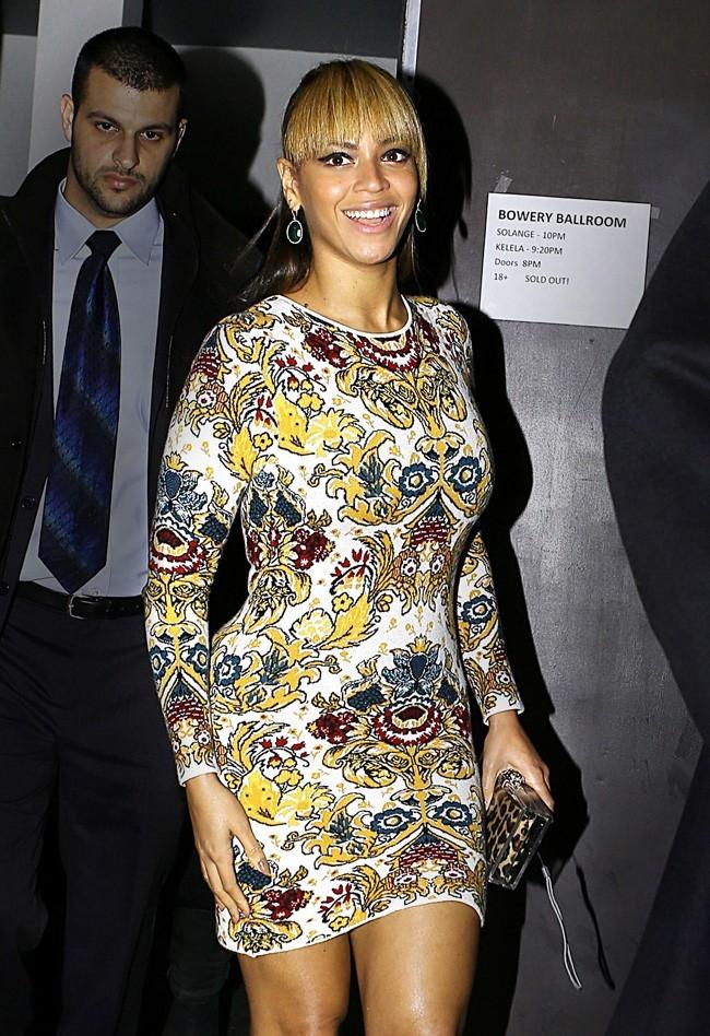 Beyoncé le 11 décembre 2012 à New York